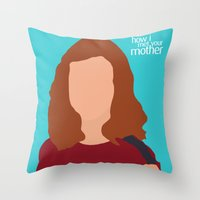 Lily Aldrin HIMYM Throw Pillow