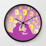 Repunzel's Dream Wall Clock