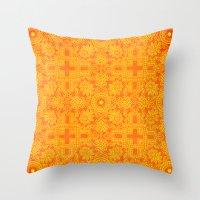 Bazaar A Throw Pillow