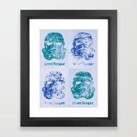 BEAST Street Trooper - Fab Four Framed Art Print