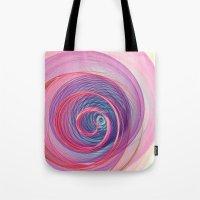 Ring Nebula Abstract  Tote Bag
