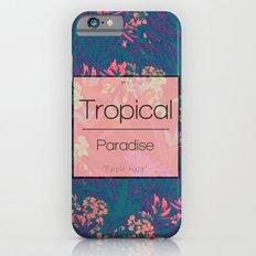 Tropical Paradise: Purple Haze iPhone 6 Slim Case