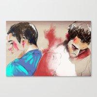 Sterek Canvas Print