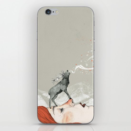 Deer Lady! iPhone & iPod Skin