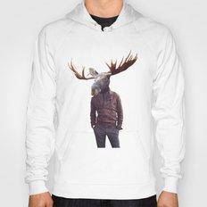 fashionable moose Hoody