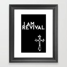 I Am Revival Framed Art Print