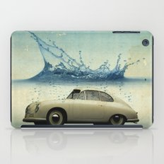 deep water porsche iPad Case