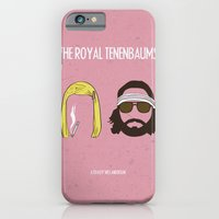 iPhone & iPod Case featuring The Royal Tenenbaums by gokce inan