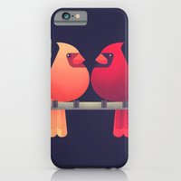 Northern Cardinals on a Japanese Maple iPhone 6 Slim Case
