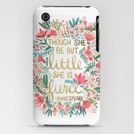 Little & Fierce iPhone (3g, 3gs) Slim Case