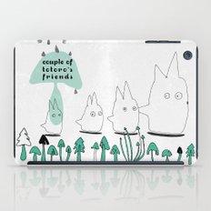 Couple of TOTORO's Friends iPad Case