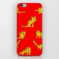 Tigrrrrs iPhone & iPod Skin