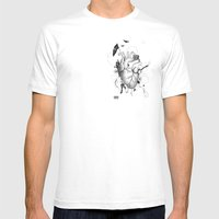 I Love Design Mens Fitted Tee White SMALL