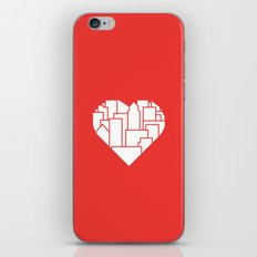 Heart of the City Redux iPhone & iPod Skin