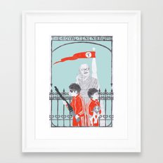 Me and Julio Down By The Schoolyard Framed Art Print