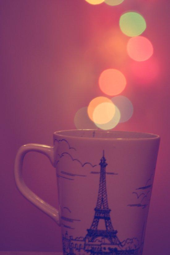 Cup Full of Bokeh Art Print