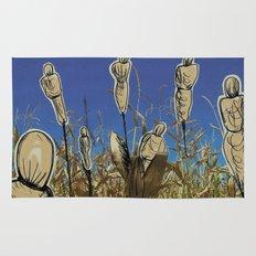 Human cornfield /Maizal humano Rug