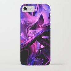 Fluorescent Passions Abstract iPhone 7 Slim Case
