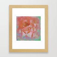 The Fish Pond Framed Art Print
