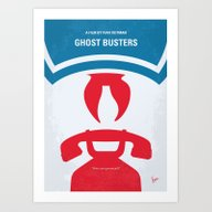 No104 My Ghostbusters Mi… Art Print