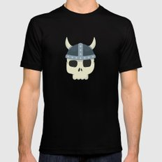 Viking Warrior Mens Fitted Tee SMALL Black
