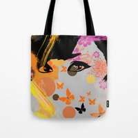 Audrey again Tote Bag