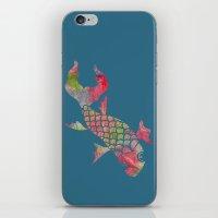 Rainbow Koi Fish iPhone & iPod Skin