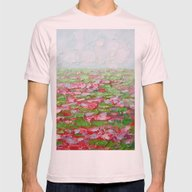 September Fields No. 2 Mens Fitted Tee Light Pink SMALL
