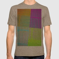 Di-simetrías Color Mens Fitted Tee Tri-Coffee SMALL