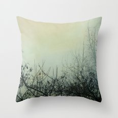 Dark Morning Throw Pillow