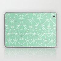 Abstract Mirror Mint Laptop & iPad Skin