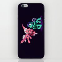 Mad T Ponies 'Mally and Thackery' iPhone & iPod Skin