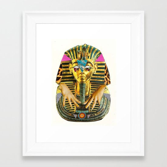 'There Are No Kings' Framed Art Print