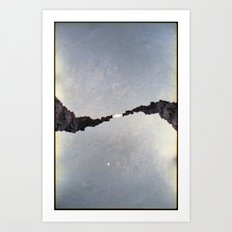 Landscapes c12 (35mm Double Exposure) Art Print