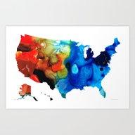 United States Of America… Art Print