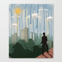 The Sky Is Falling Canvas Print