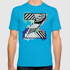 Z for …. Mens Fitted Tee Teal SMALL
