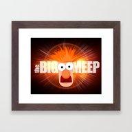 The Big Meep Framed Art Print