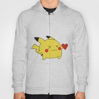 Pikachu In Love  Hoody