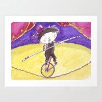 Malabarista Art Print