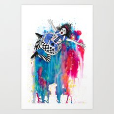 Sweet Disposition Art Print
