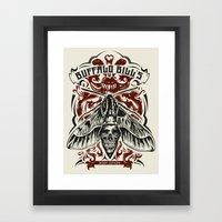 Buffalo Bill Lotion Post… Framed Art Print