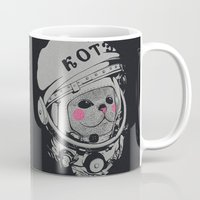 Spaceman cat Mug