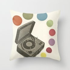 Pop Music Throw Pillow
