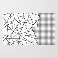 Abstraction Outline Grid… Rug