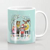 Woodland Christmas Carol… Mug