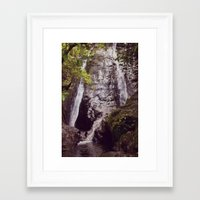Falls Framed Art Print