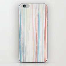 Painterly Stripes iPhone & iPod Skin
