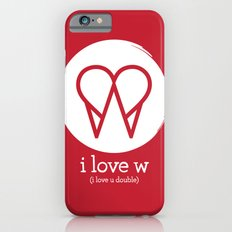 I Love W iPhone 6 Slim Case