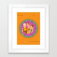 The Darjeerling Limited Framed Art Print